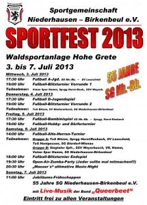 Sportfest Niederhausen 2013