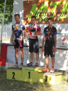 Sieger beim MTB-Hessen-Cup, Pepe Rahl, Mitte