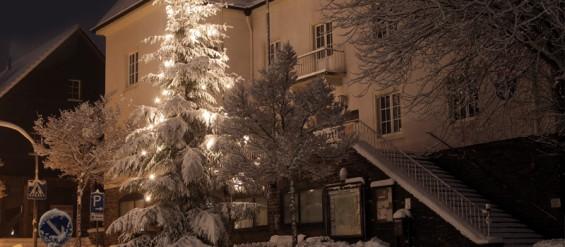 Rathaus Windeck Schnee