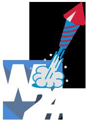 W24 Rakete Silvester