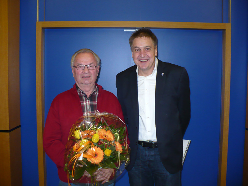 Verabschiedung Gerd Gerhards