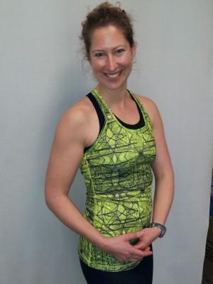 Diplom-Fitnessökonomin Simone Reddmann