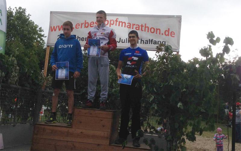 Pepe Rahl gewinnt den Erbeskopf-MTB-Marathon 2014