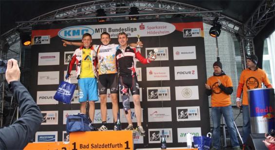 Jan Jucken - rechts,   Dritter der deutschen Meisterschaft der U 19 FUN in Bad Salzdetfurth