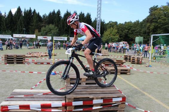Pepe Rahl beim Trail der NWS in Pracht-Wickhausen auf Platz 2
