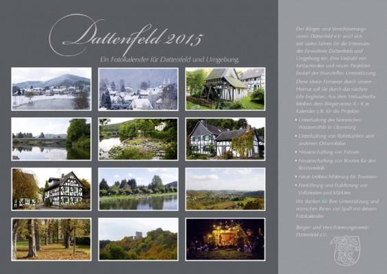 Jahreskalender Dattenfeld 2015