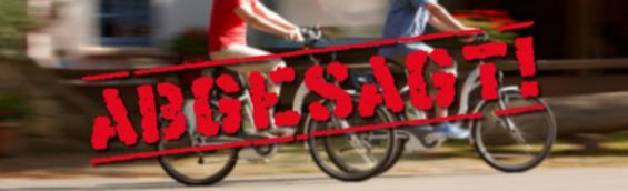 Siegtal Pur abgesagt Fahrrad