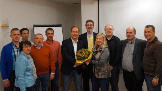 FDP Windeck und die FDP Eitorf bei einem Gedankenaustausch mit MdL Dr. Joachim Stamp