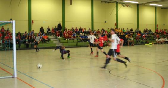 Das 35. Jugendfußball-Hallenturnier