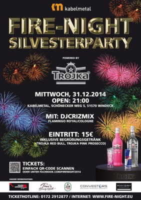 Silvesterparty Fire-Night 2014