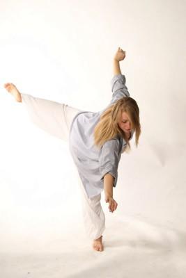 Tanzlehrerin Aube Bentele
