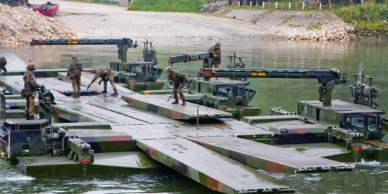Behelfsbrücke Bundeswehr M3