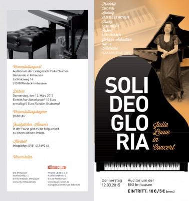Flyer Konzert Julie Lowe