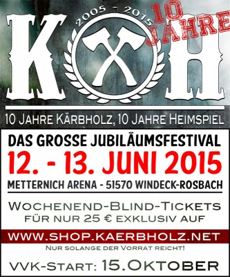 Kärbholz Heimspiel 2015 Flyer