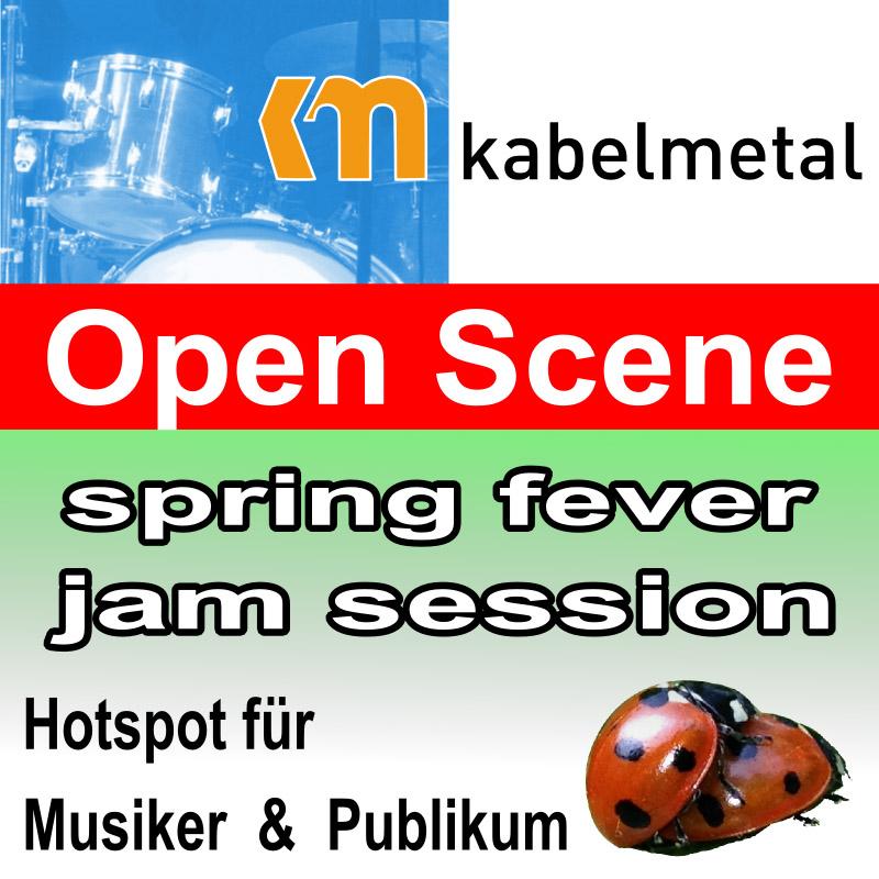 Open Scene Jam Session spring fever