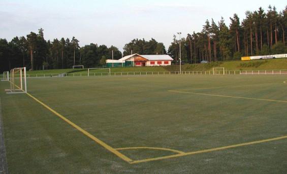 Waldsportanlage Hohe Grete Sandkunstrasen SG Niederhausen-Birkenbeul