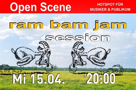 Open Scene  Jam Session 15.04.15