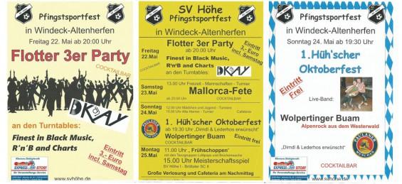 Pfingssportfest SV Höhe 2015