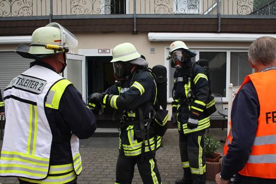 Feuerwehr Übung Wiedenhof