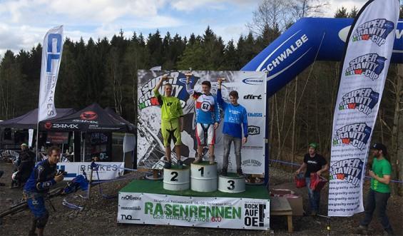 Nino Zimmermann auf Platz 1 in Olpe-Fahlenscheid