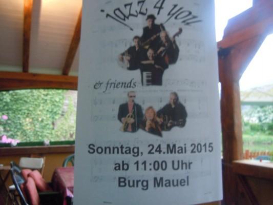Jazz Pfingskonzert Burg Mauel
