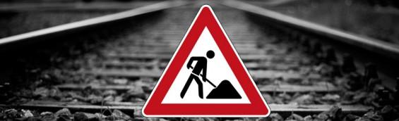 Bahn Gleise Bauarbeiten