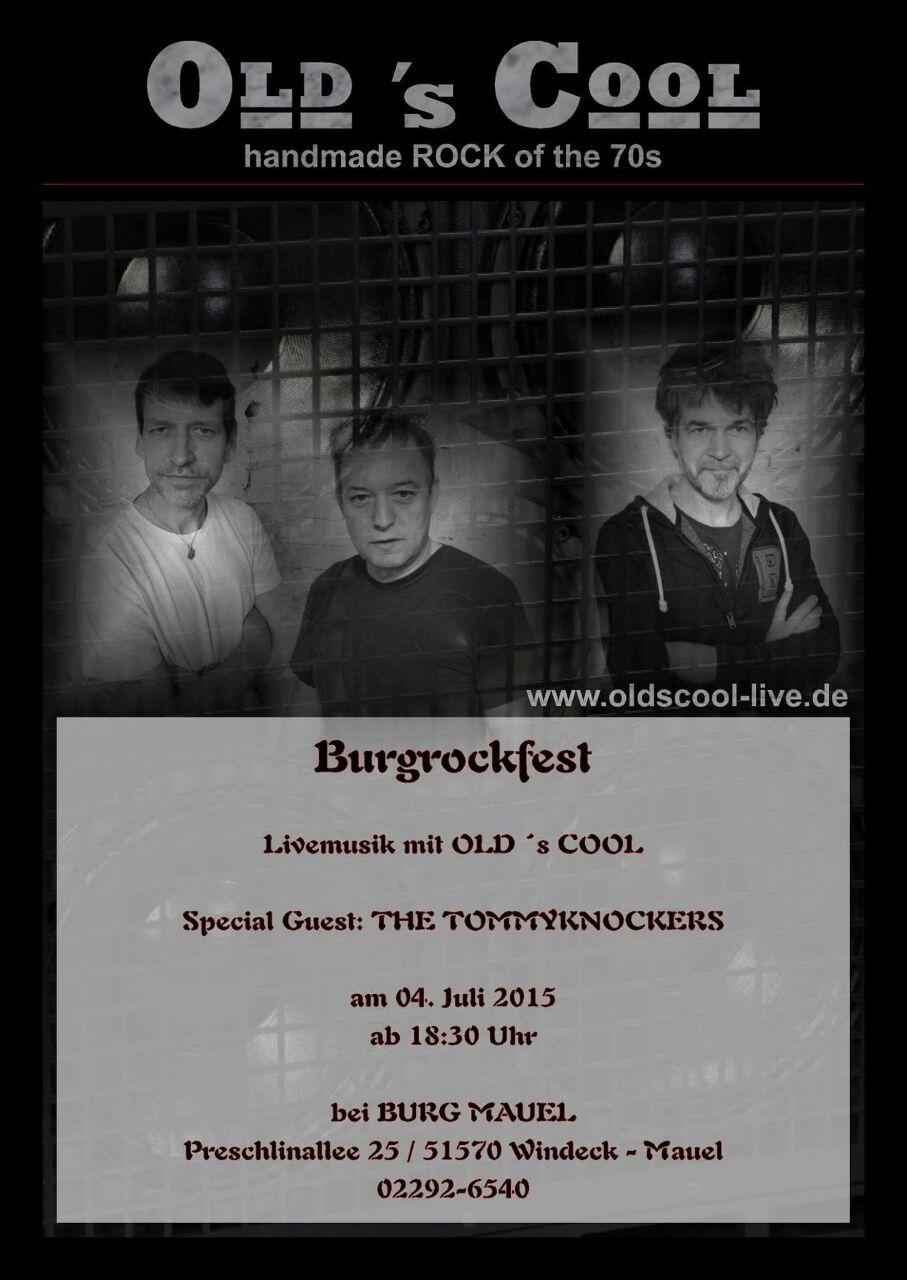 Burgrockfest Mauel 2015