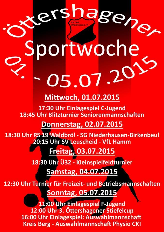 SV Öttershagen Sportwoche 2015