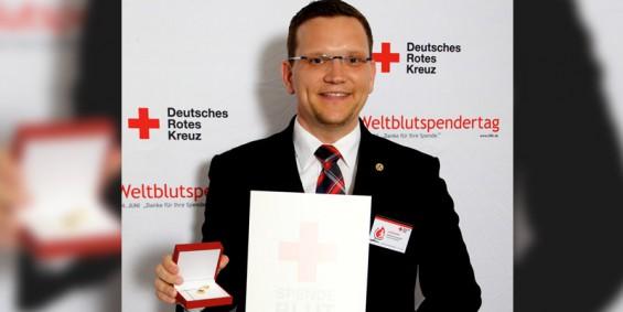 Matthias Ennenbach DRK Ehrung Berlin