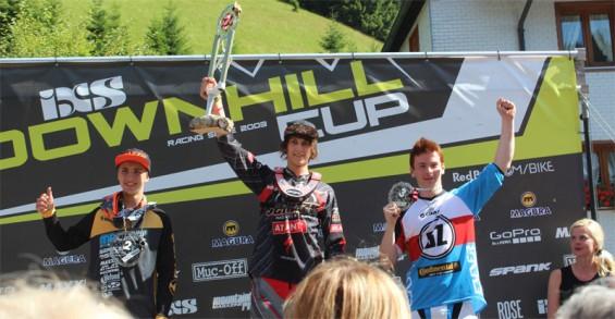 Nino Zimmermann Platz 1 Downhill