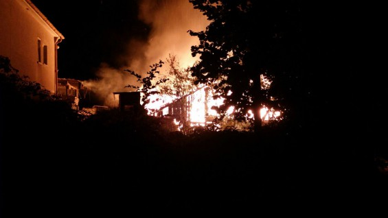 "Scheunenbrand ""Schlädchen"" 31.08.2015"