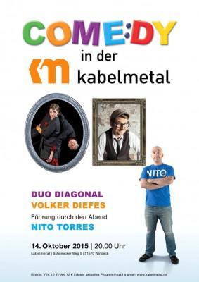 Duo Diagonal Kabelmetal