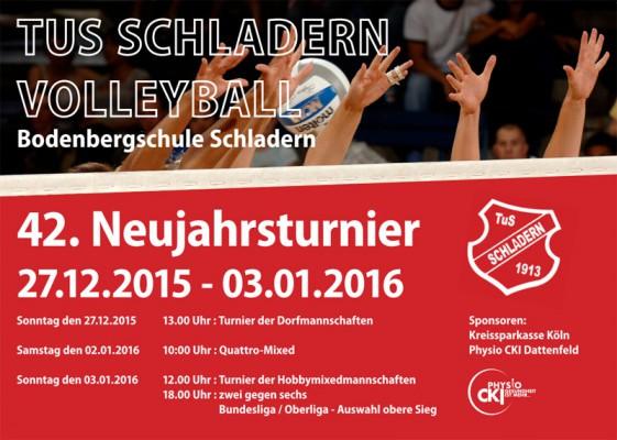 42. Neujahrsturnier des TuS Schladern Volleyball