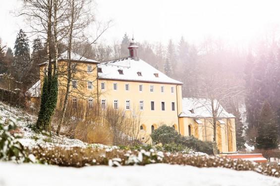 """""""Noch im Winterschlaf, das Kloster Marienthal"""". - Foto: Isabell Schöler"""