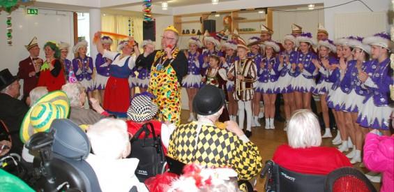 Karneval Seniorenzentrum St Josef 2016