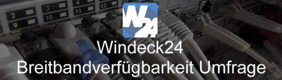Breitbandverfügbarkeit Windeck
