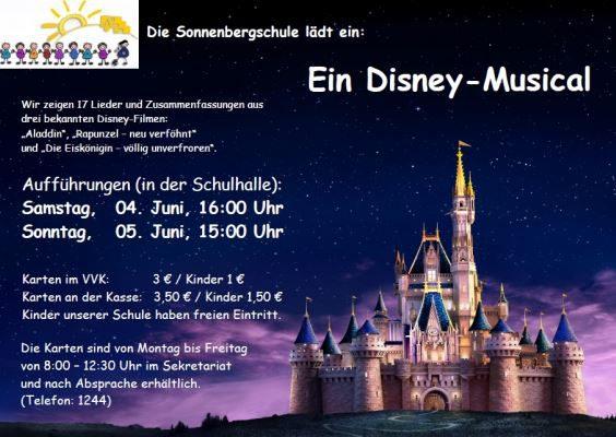 Sonnenbergschule Disney Musical