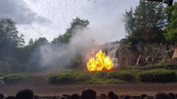Karl May Festspiele in Elspe - hier wird Action geboten