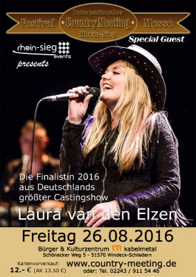 Laura van den Elzen Country Meeting