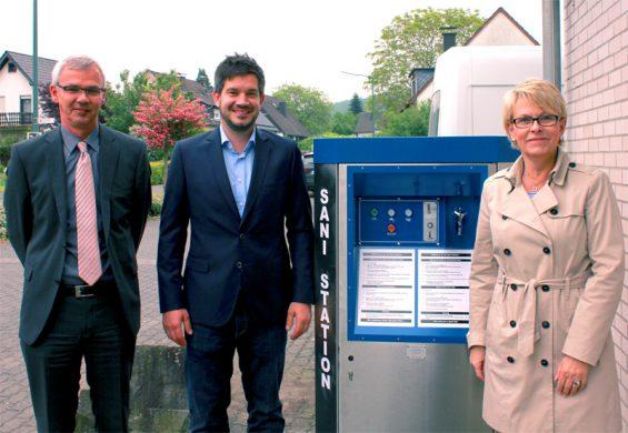 v.l.: Joachim Kronimus, Thomas Maffei, Andrea Thiel