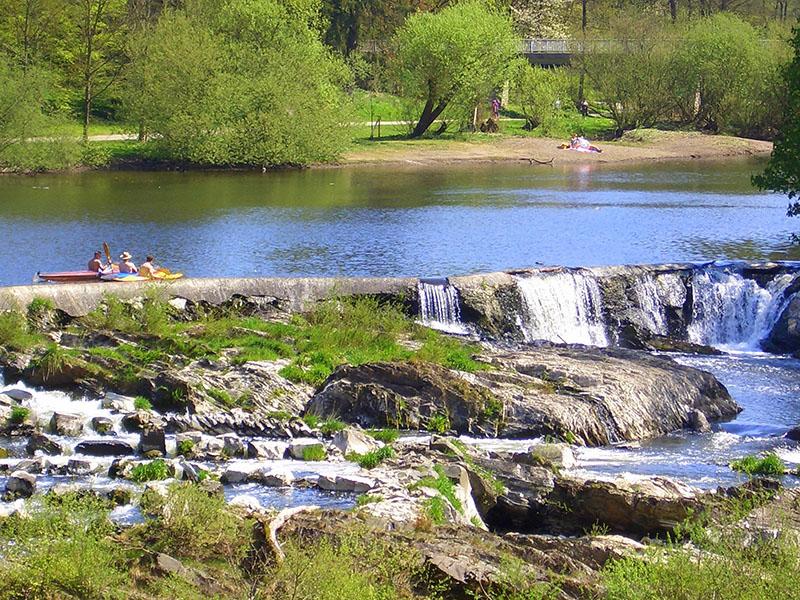 Wasserfall Schladern - Bild: MIT-Berggemeinden