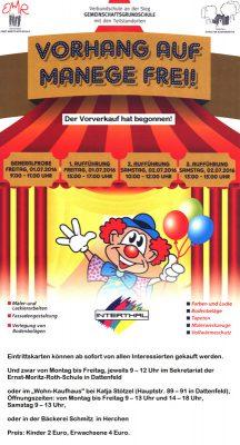 Zirkusprojekt in der Verbundschule an der Sieg2