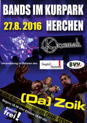 Rock-Konzert Herchen 2016